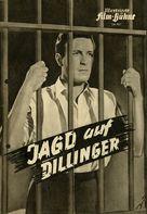 Dillinger - German poster (xs thumbnail)