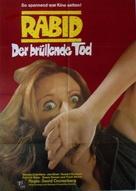 Rabid - German Movie Poster (xs thumbnail)