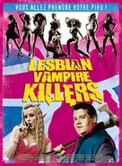 Lesbian Vampire Killers - French Movie Poster (xs thumbnail)