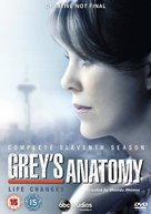 """Grey's Anatomy"" - British DVD movie cover (xs thumbnail)"