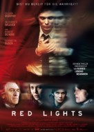 Red Lights - German Movie Poster (xs thumbnail)