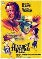 Alvarez Kelly - Spanish Movie Poster (xs thumbnail)