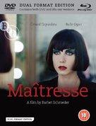 Maîtresse - British Blu-Ray cover (xs thumbnail)