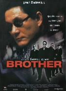 Brother - Spanish Movie Poster (xs thumbnail)
