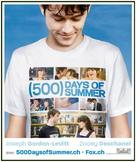 (500) Days of Summer - Swiss Movie Poster (xs thumbnail)