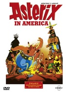 Asterix in Amerika - German DVD cover (xs thumbnail)
