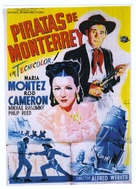 Pirates of Monterey - Spanish Movie Poster (xs thumbnail)