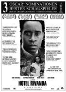 Hotel Rwanda - German Movie Poster (xs thumbnail)