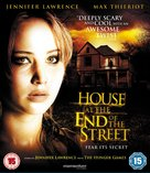 House at the End of the Street - British Blu-Ray cover (xs thumbnail)