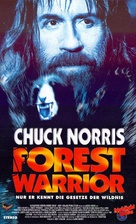 Forest Warrior - German VHS movie cover (xs thumbnail)