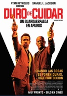 The Hitman's Bodyguard - Argentinian Movie Poster (xs thumbnail)