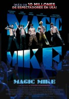 Magic Mike - Spanish Movie Poster (xs thumbnail)