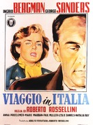 Viaggio in Italia - Italian Movie Poster (xs thumbnail)