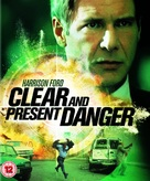 Clear and Present Danger - British Movie Cover (xs thumbnail)