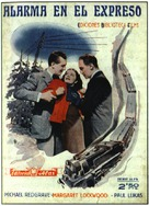 The Lady Vanishes - Spanish Movie Poster (xs thumbnail)