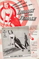 Deadly Is the Female - poster (xs thumbnail)