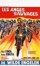 The Wild Angels - Belgian Movie Poster (xs thumbnail)