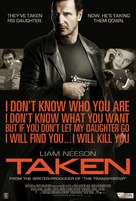 Taken - Philippine Movie Poster (xs thumbnail)