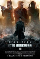 Star Trek: Into Darkness - British Movie Poster (xs thumbnail)