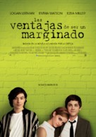 The Perks of Being a Wallflower - Spanish Movie Poster (xs thumbnail)