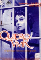 I Want to Live! - Spanish VHS cover (xs thumbnail)