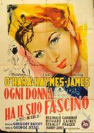 Sentimental Journey - Italian Movie Poster (xs thumbnail)