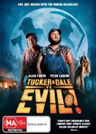 Tucker and Dale vs Evil - Australian DVD cover (xs thumbnail)