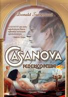 Il Casanova di Federico Fellini - Polish DVD movie cover (xs thumbnail)