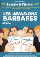 Invasions barbares, Les - French Movie Poster (xs thumbnail)