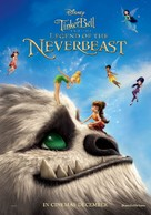 Tinker Bell and the Legend of the NeverBeast - British Movie Poster (xs thumbnail)