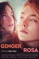 Ginger & Rosa - British Movie Poster (xs thumbnail)