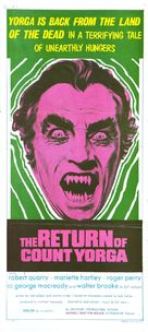 The Return of Count Yorga - Australian Movie Poster (xs thumbnail)