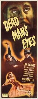 Dead Man's Eyes - Movie Poster (xs thumbnail)