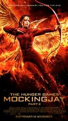 The Hunger Games: Mockingjay - Part 2 - Swedish Movie Poster (xs thumbnail)