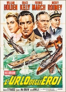 The Bridges at Toko-Ri - Italian Movie Poster (xs thumbnail)