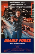 Deadly Force - Movie Poster (xs thumbnail)