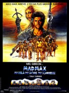 Mad Max Beyond Thunderdome - French Movie Poster (xs thumbnail)