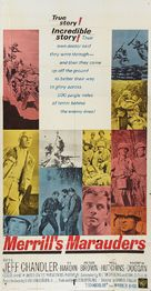 Merrill's Marauders - Movie Poster (xs thumbnail)