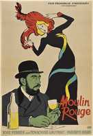 Moulin Rouge - Polish Movie Poster (xs thumbnail)