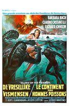 The Island of the Fishmen - Belgian Movie Poster (xs thumbnail)