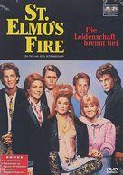 St. Elmo's Fire - German DVD cover (xs thumbnail)