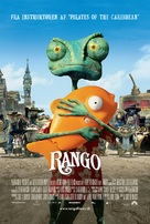 Rango - Danish Movie Poster (xs thumbnail)