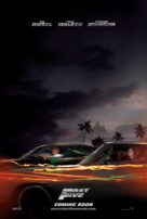 Fast Five - Norwegian Movie Poster (xs thumbnail)