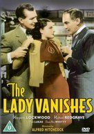 The Lady Vanishes - British DVD movie cover (xs thumbnail)
