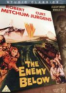 The Enemy Below - British DVD movie cover (xs thumbnail)