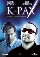 K-PAX - Polish DVD movie cover (xs thumbnail)