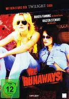 The Runaways - German DVD cover (xs thumbnail)
