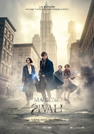 Fantastic Beasts and Where to Find Them - Slovenian Movie Poster (xs thumbnail)