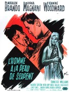 The Fugitive Kind - French Movie Poster (xs thumbnail)