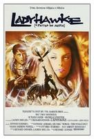 Ladyhawke - Brazilian Movie Poster (xs thumbnail)